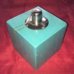 Citronella Burner - Aqua Green