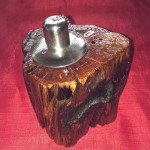 Citronella Burner - Natural Wood A