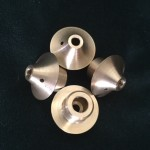 4 x Brass Dossers or wick holders