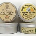 Gilly's Cabinet Makers Wax – 100g Dark or Clear