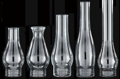 glass chimneys for oil lamps