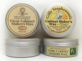 Gilly's Cabinet Makers Wax - 100g Dark or Clear - QLD Lamp ...